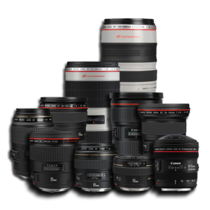 Canon Lens Rental Zoom and Prime Lenses