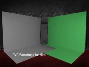 PVC Background Hire
